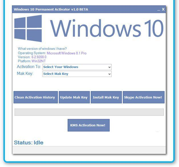 Windows 10 Permanent Activator V1.4 Portable Latest version a greatest program as a way to permanently activate your Windows 10.