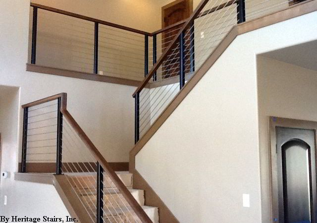 Image Result For Interior Cable Railungs Cable Stair