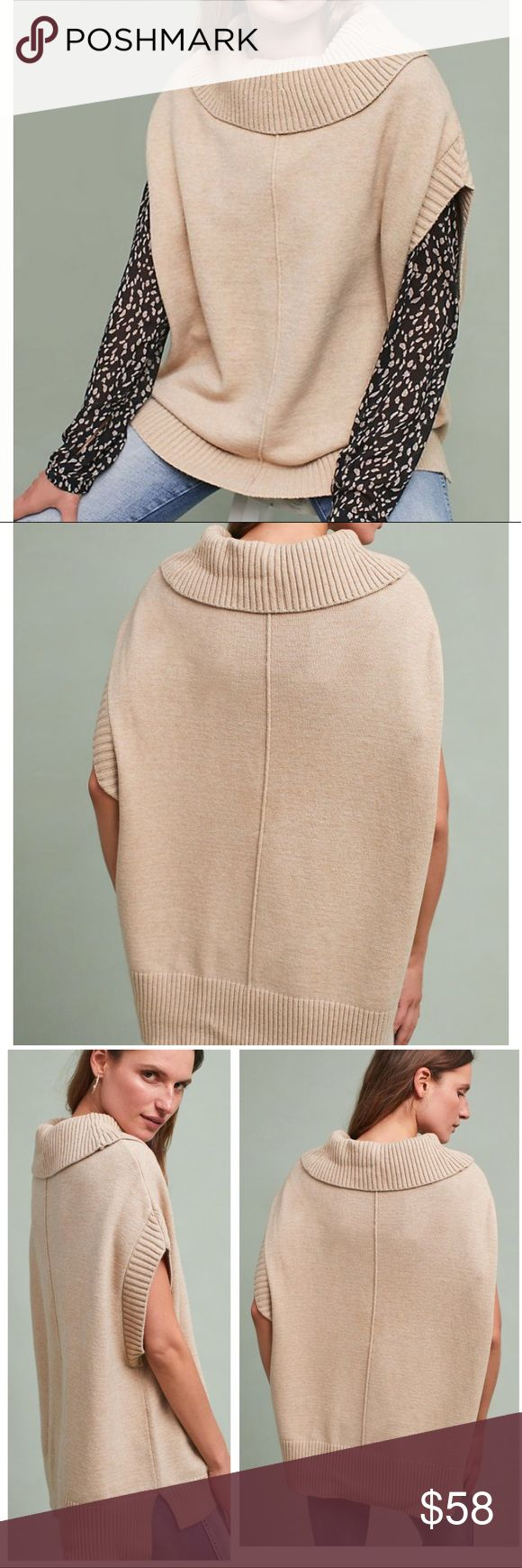 moth sweater • anthropologie brand new with tags ❤️ so incredibly soft and flattering. acrylic/poly/spandex mix 😍 Anthropologie Sweaters