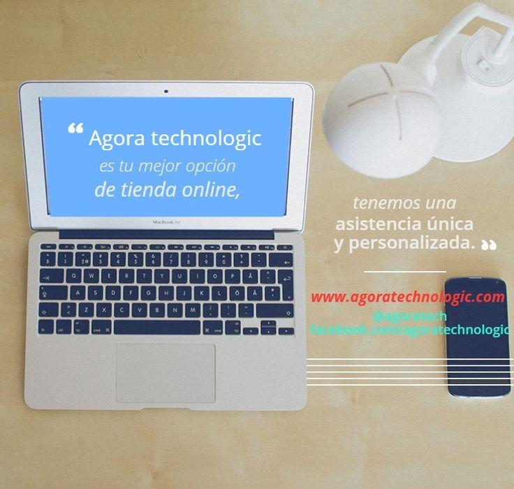 Somos tu mejor opción, déjanos convencerte. Instagram @agoratech Facebook Agora technologic
