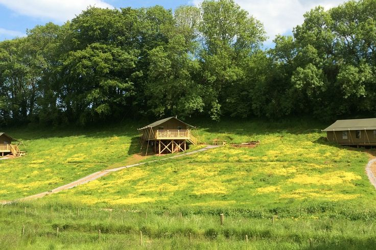 Brownscombe Luxury Glamping - Toasty lodges for childhood adventures in Devon.  #glamping #devon #coolstays