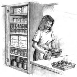 Seven mistakes NOT to make when storing food