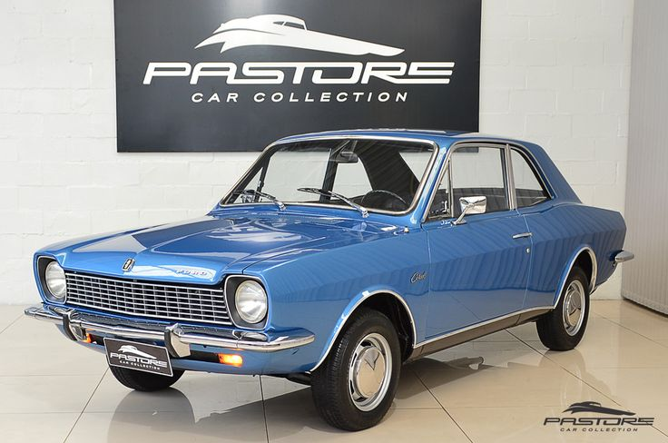 Ford Corcel Luxo 1975 Azul - Pastore Car Collection