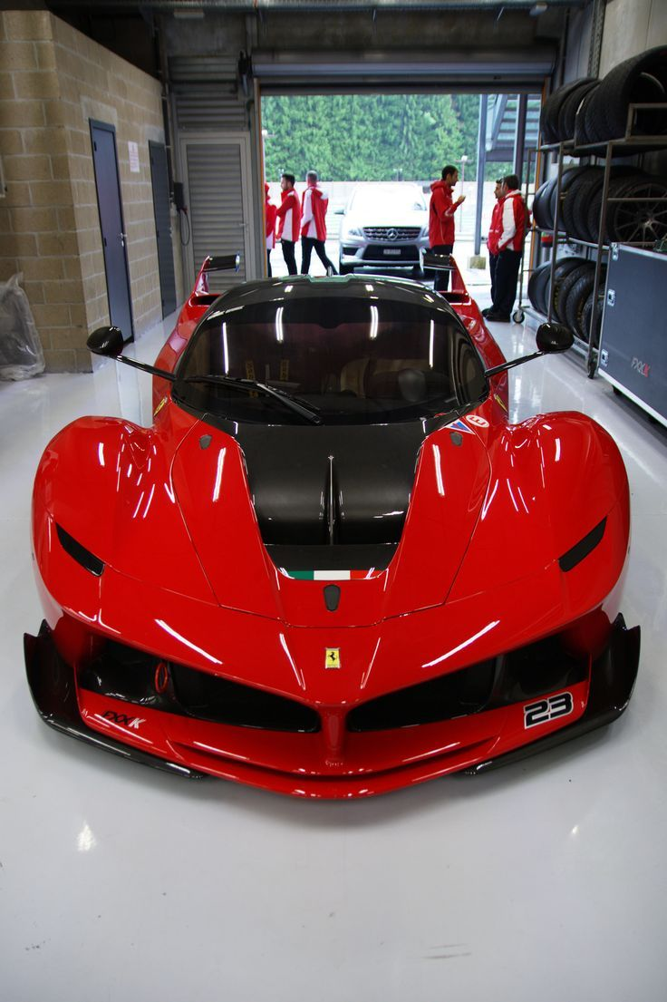 Ferrari Laferrari FXX K Ferrari Corse Clienti on Spa www.tuningcult.com