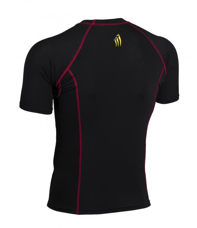 Ideal as a base layer or for training, Didoo Shirts are a tight fit compression garment. All Season Compression Baselayer which keeps you cool when its hot and keeps you hot when its cool. The light and tight compression fit is built to move with you for zero distractions, while the breathable, low profile design fits cleanly under a uniform.