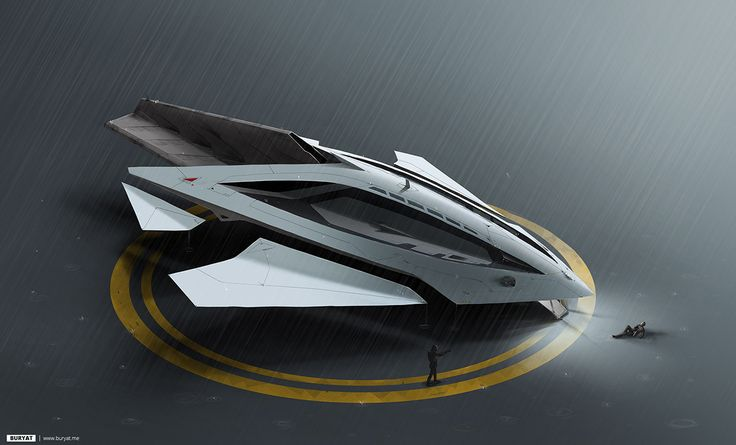 Concept ships by Buryat Fantastic ships from our friend Evgeny Onutchin.