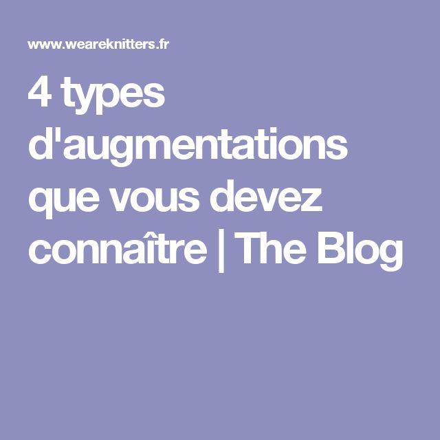 4 types d'augmentations que vous devez connaître | The Blog
