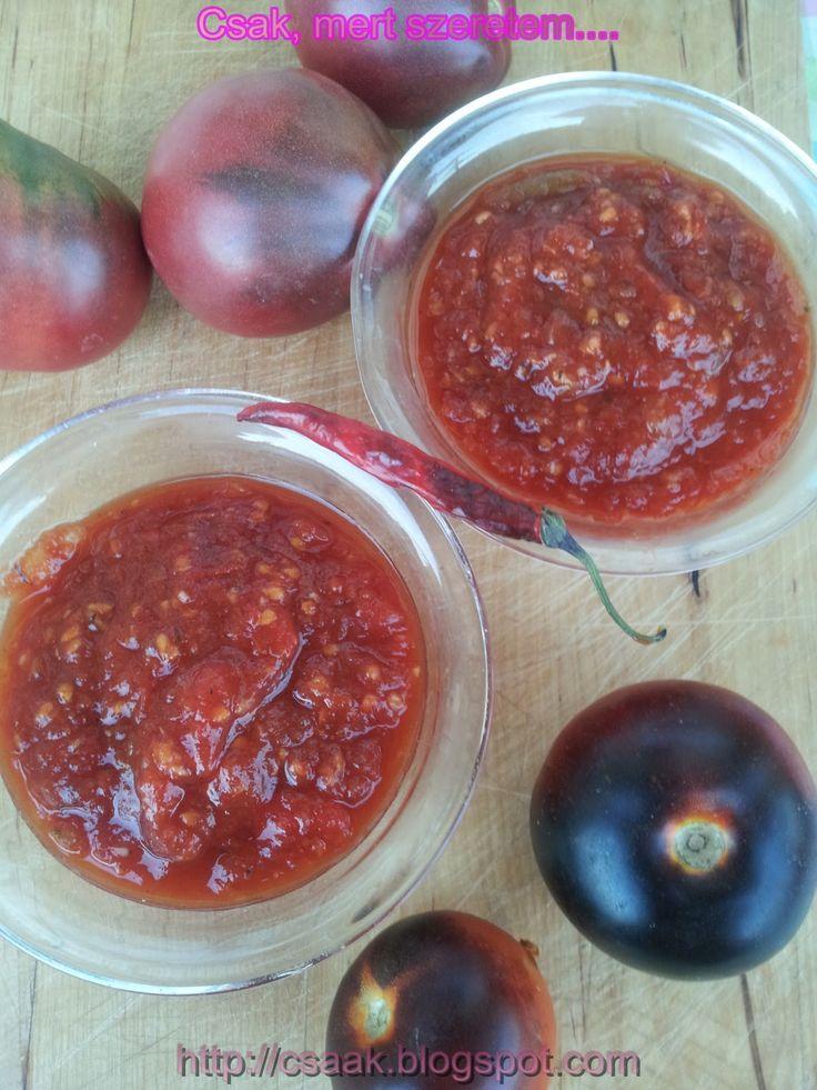 chilis paradicsom chutney