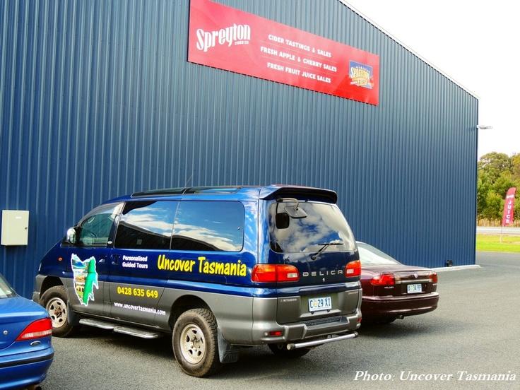 My Tour Van at Spreyton Cider Co.