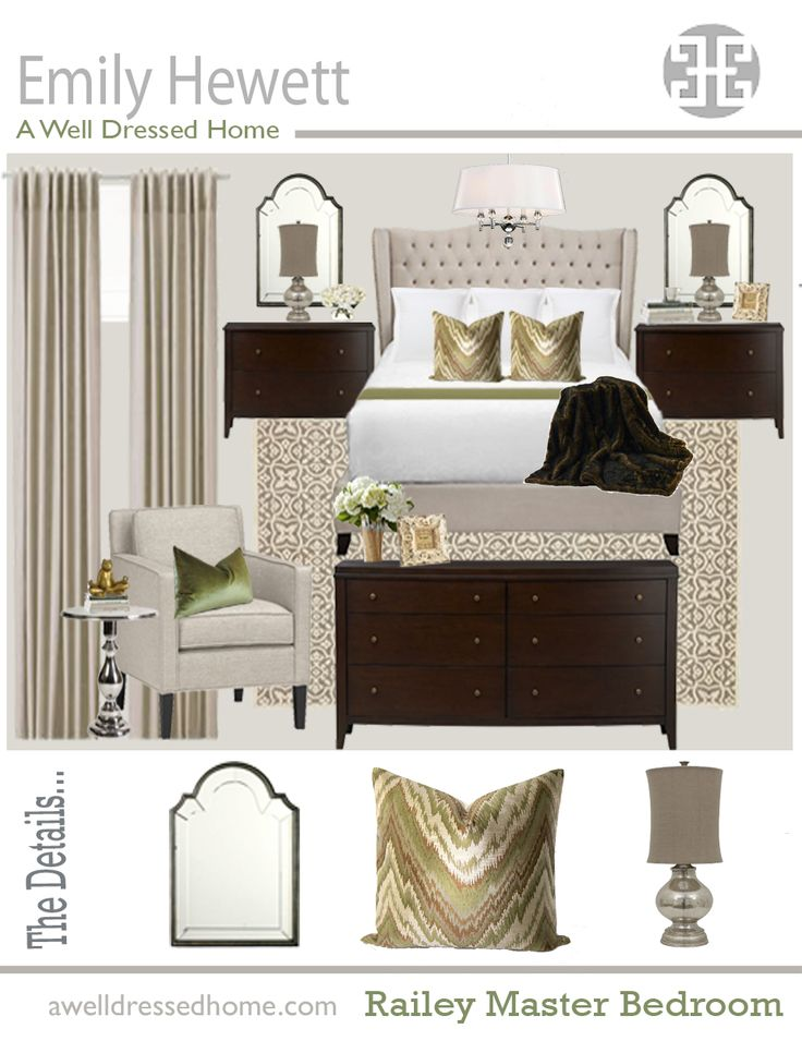 cool Railey Master Bedroom Design Board - Stylendesigns.com!