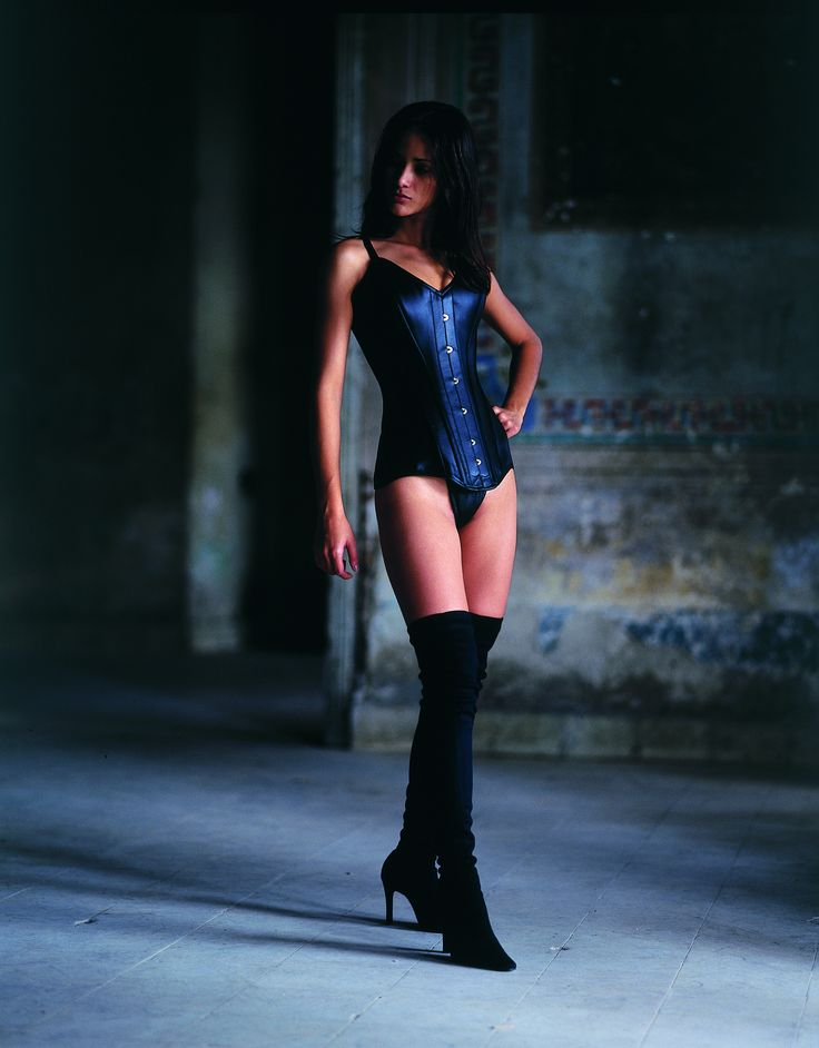 Leather Vollers Corset