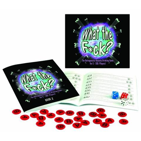 What the F*ck? Board Game: The Raunchy Version - The Hippie House