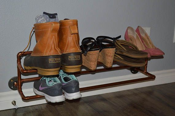 25 Best Ideas About Wall Mounted Shoe Rack On Pinterest