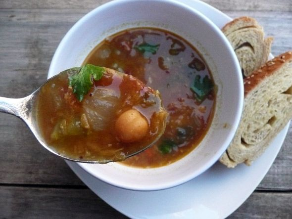 Cinnamon Celebration! Gypsy Stew with Ham, Lentils & Chickpeas