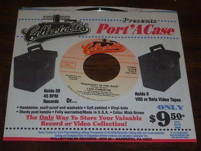 Lou Christie: Rhapsody In The Rain & Walker Bros: Make It Easy On.. - Nr Mt!