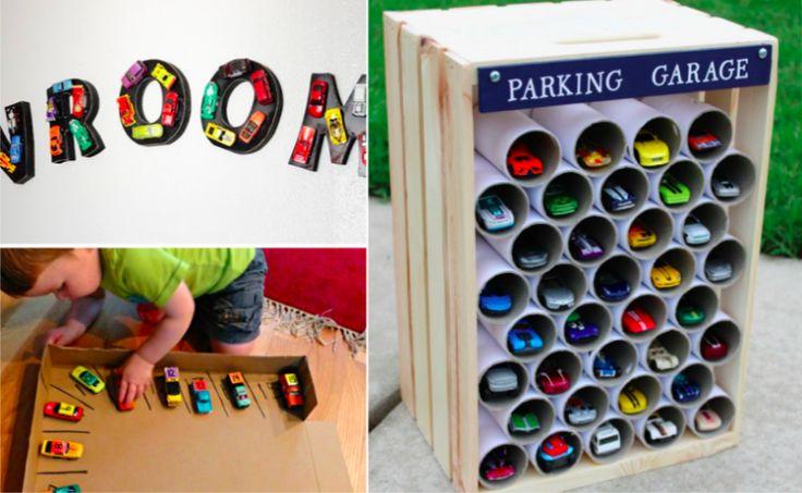 Plus de 50 idées de bricolages géniaux autour des petites voitures - Des idées