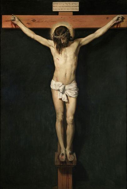 Cristo crucificado - Velázquez- Colección - Museo Nacional del Prado
