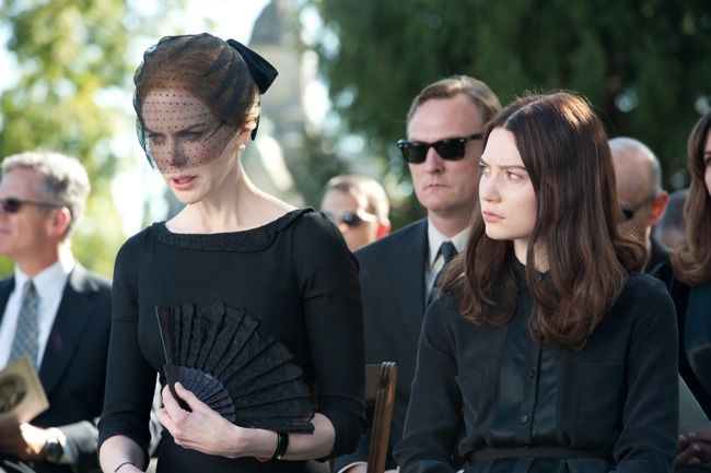 Nicole Kidman and Mia Wasikowska in Stoker
