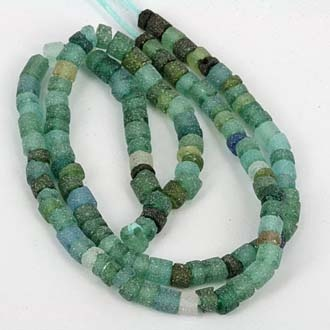 SKJ ancient bead art | roman period glass