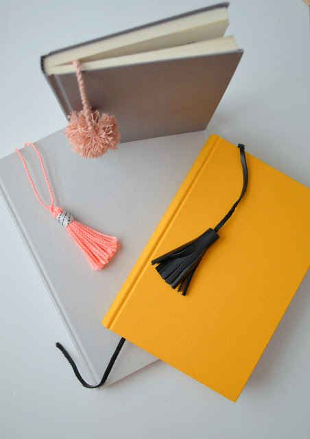 Tassel and Pom Pom Bookmarks | 33 DIY Gifts You Can Make In Less Than An Hour