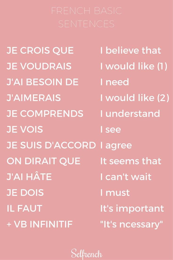 7 Days to Improve your French