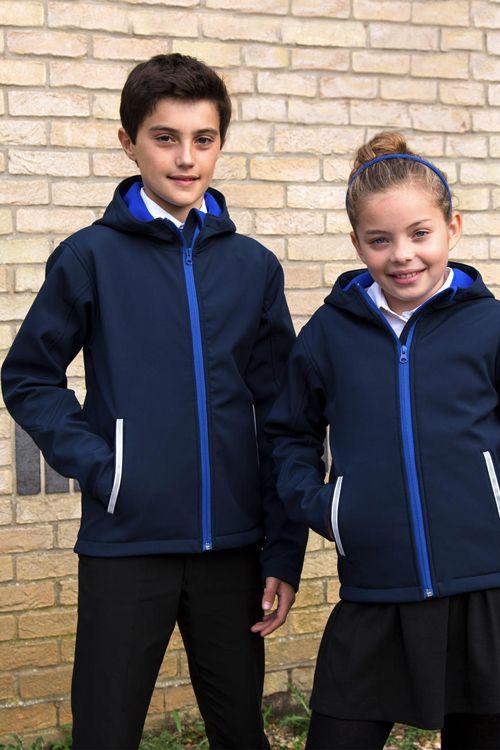 Jachetă softshell cu glugă TX Performance Result Core din 93% poliester şi 7% elastan