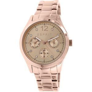 Esprit Women's Tracy ES106702003 Rose Gold Stainless-Steel Analog Quartz Watch