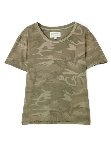 It's not just for the boys: Camouflage Military Trend, 34 Pieces to Shop + Wear Now. #camo #ontrend