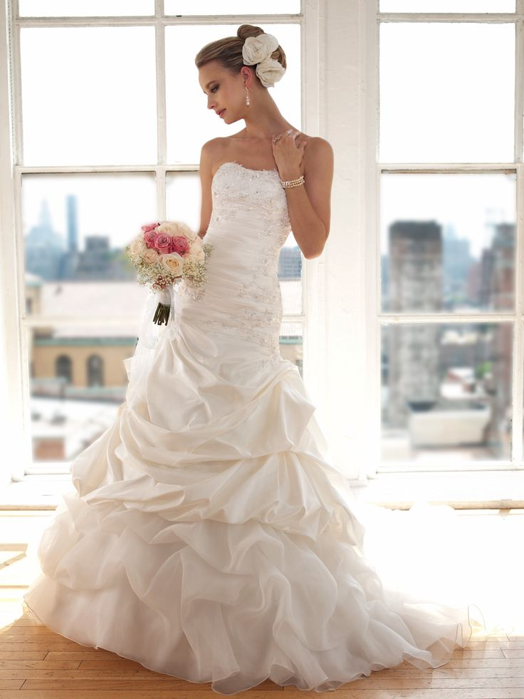 20 best wedding pictures images on pinterest for Custom made wedding dresses dallas