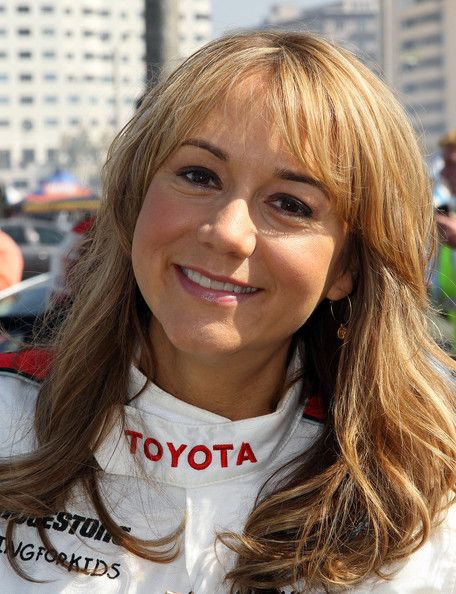 Hairstyle idea? Megyn Price - 35th Annual Toyota Pro/Celebrity Race