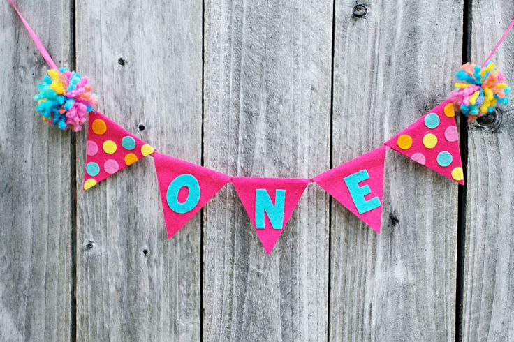 Girls+1st+Birthday+High+Chair+Banner++First+by+LaLaLolaShop,+$18.00