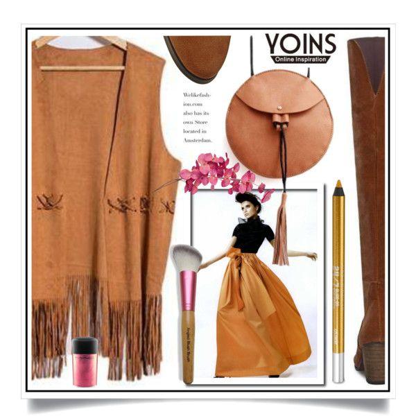 Yoins XIV/8 by ewa-naukowicz-wojcik on Polyvore featuring moda, Urban Decay, MAC…
