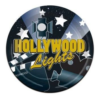 Hollywood Lights 9-inch Paper Plates 8 Per Pack by Beistle. $5.56. Design is stylish and innovative. Satisfaction Ensured. Poly Coated Paper Plates. 8 Per Pack. Manufactured to the Highest Quality.. The Beistle Company is the oldest and largest manufacturer of decorations and party goods. With unsurpassed service and top quality products its easy to understand why The Beistle Company is world renowned in the Party Goods Industry. Our decorations and party goods ar...