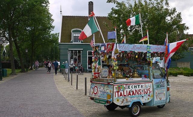 Piccola Italia. Écht Italiaans ijs. Net Italië. Maar dan in een oer-Hollands landschap.