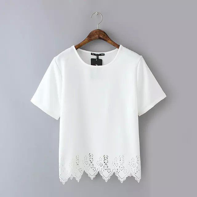 Europe And The United StatesFashion Lace Stitching Sleeve Head T-shirt White LG15032627http://www.clothing-dropship.com/europe-and-the-united-states--fashion-lace-stitching-sleeve-head-t-shirt-white-g2331239.html