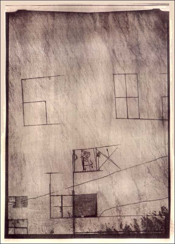 klee  OVER ROSWELL-2 / PAUL KLEE LAND / PIGMENTED PRINT 17.5X cm