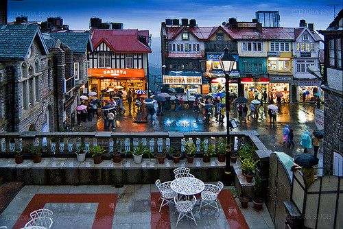 Mall Road, Shimla, one of the destinations on our rail holidays to India http://www.greatrail.com/great-train-tours-holiday-destinations/india--the-orient/shimla.aspx
