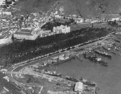 Puerto de Málaga en 1910