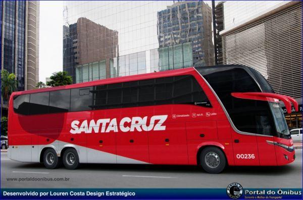 Nova Identidade Visual da Viação Santa Cruz