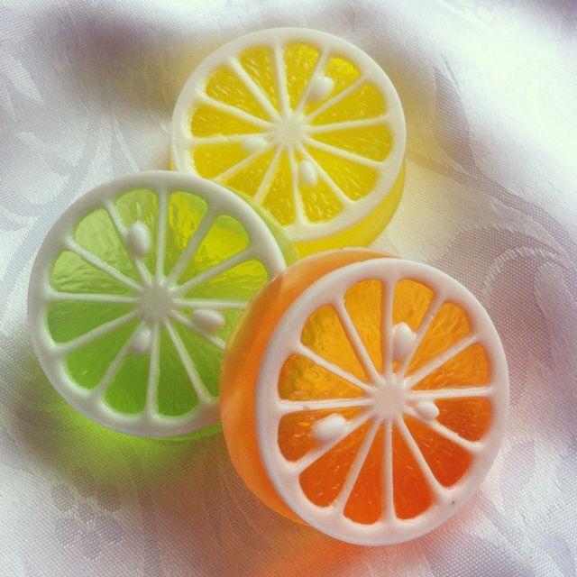 "Soap ""Citron"". - what an amazing effect."
