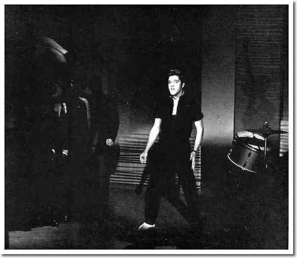 ♡♥Elvis Presley during rehearsals on the Ed Sullivan show in New York on October 26th,1956♥♡
