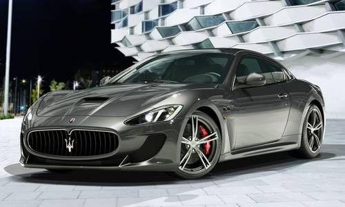 #Maserati #Granturismo. La coupé seducente del marchio tridente.