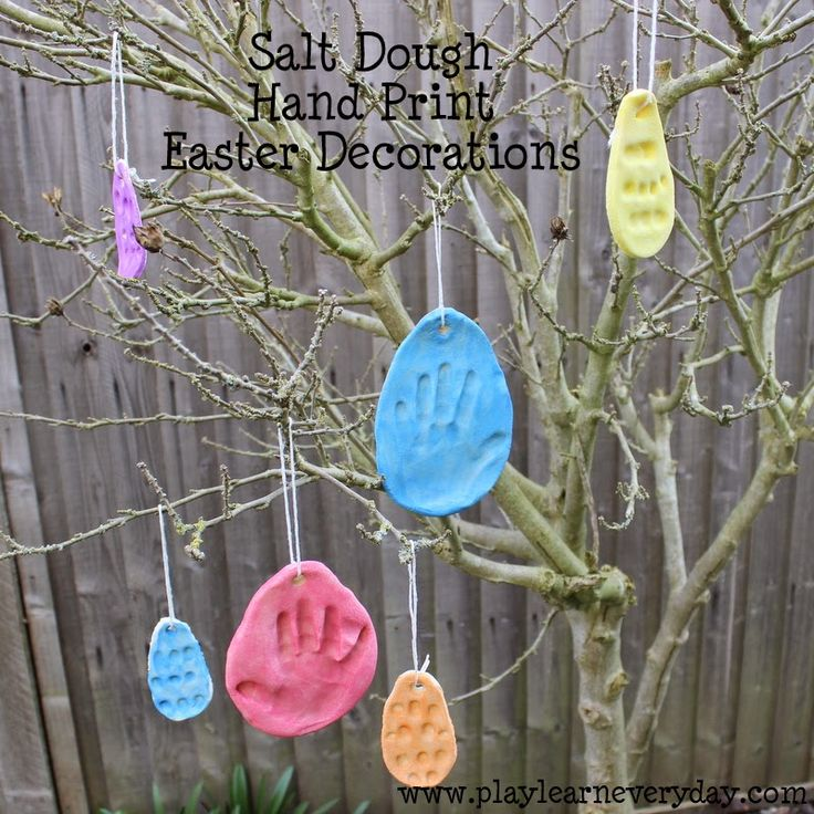 158 best toddler play 1 year old 12 18 months images on play and learn everyday salt dough hand print easter decorations negle Image collections