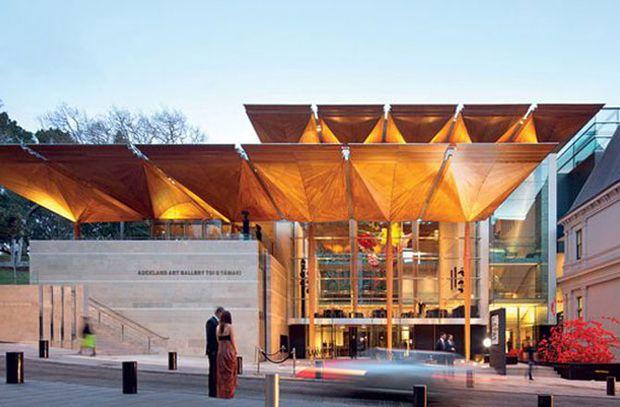 """En las categorías de """"Edificio Mundial del Año"""" y """"Cultura"""", el ganador fue la Galería de Arte de Auckland, Nueva Zelanda."""