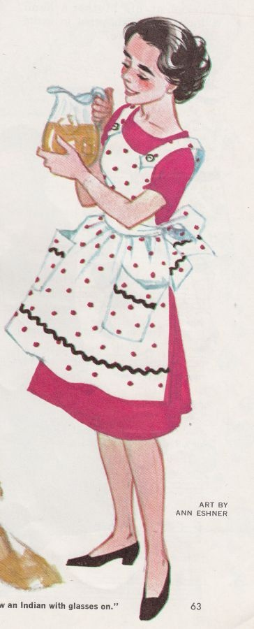 """Refreshments are served!"" ~ The '50s hostess with the mostest."