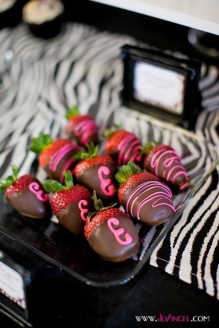 """Photo 7 of 20: Hot Pink with Zebra Print / Birthday """"Zebra Print 30th Birthday Bash"""""""