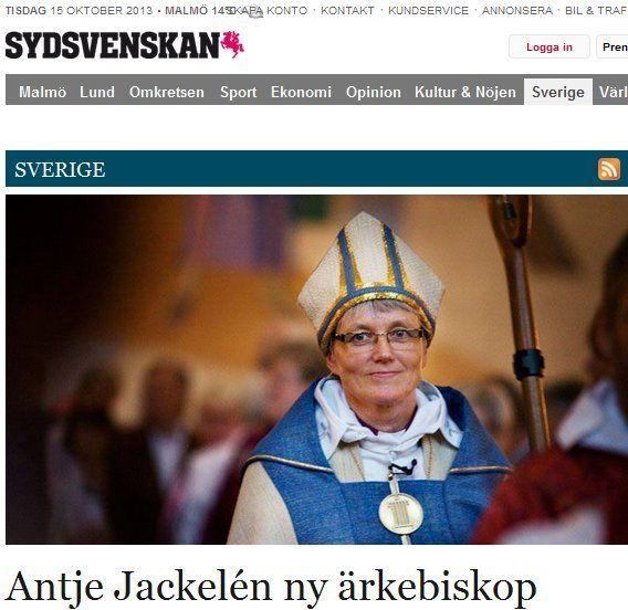 Nya ärkebiskopen är för könsstympning | Ann-Mari's Blogg