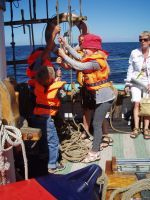 Åk piratskepp i Simrishamn!