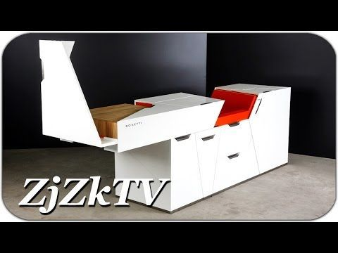Потрясающая мебель трансформер, которую каждый захочет иметь у себя дома. Изобретения №38 - YouTube