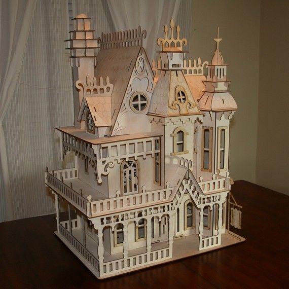1000+ Ideas About Victorian Dollhouse On Pinterest